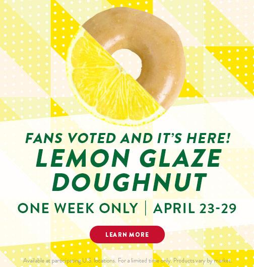 Lemon Glaze Doughnut