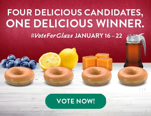 Vote For Glaze