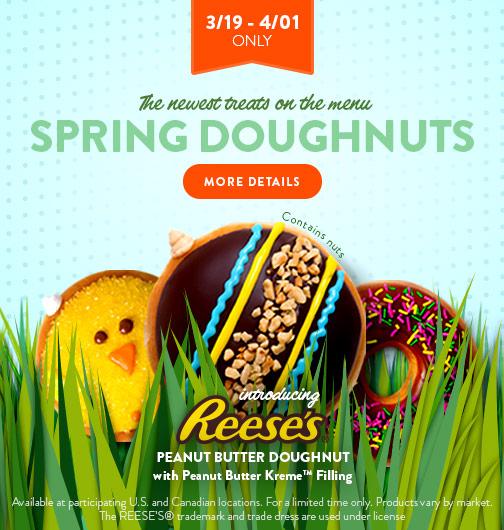 Spring Doughnuts